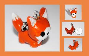 Fox Charm by brandimillerart