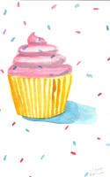 Cupcake Sprinkles by brandimillerart