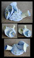 Blue Spikey by brandimillerart