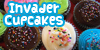 Invader Cupcakes Icon 1 by brandimillerart