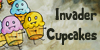 Invader Cupcakes Icon 3 by brandimillerart
