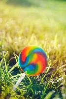 Growing a Lollipop by brandimillerart