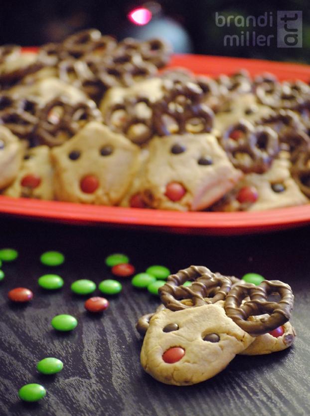 Reindeer Cookies by Strange-1