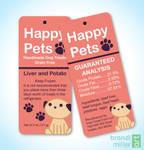 Happy Pets Dog Treat Tag