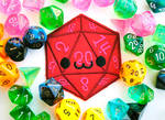 Smiling D20 Patch