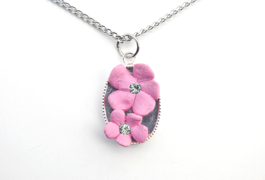 Cherry Blossom Necklace 01 by Strange-1