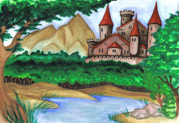 The royal castel by elende