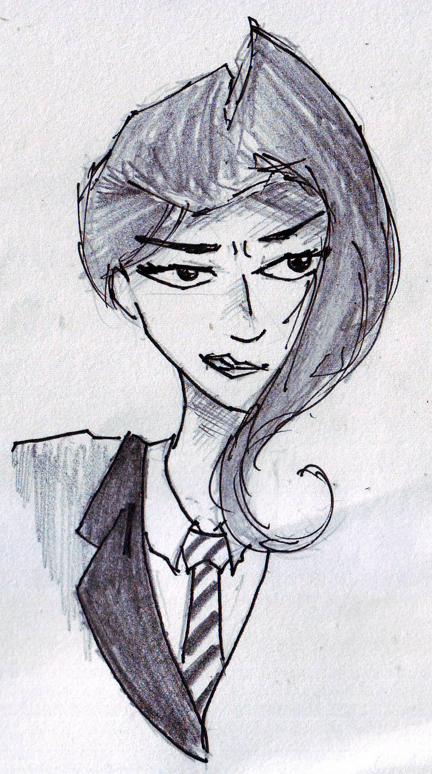 Corporate Woman by Hush-Glory