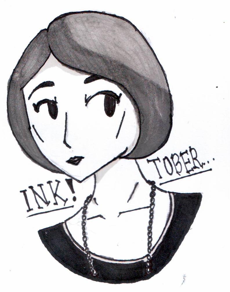 HG's Inktober (Day 4) by Hush-Glory