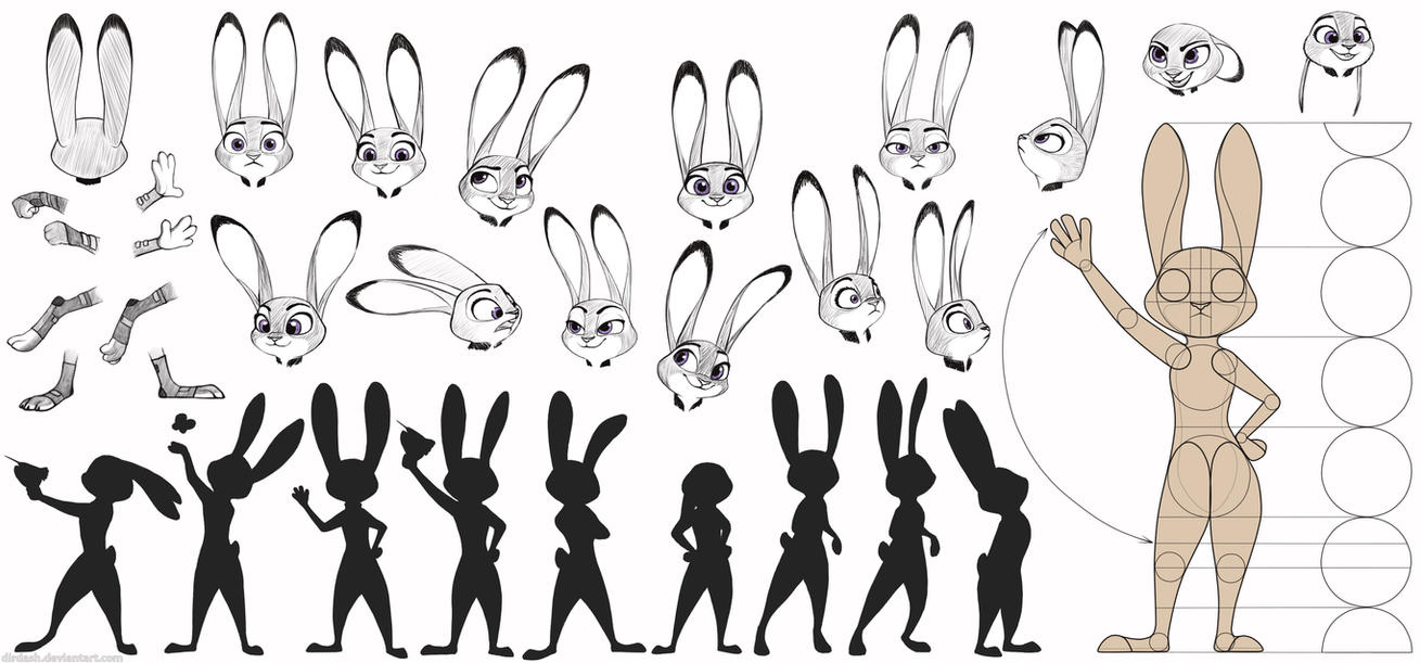 Some Judy Sketches by DirDash