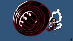 Minimalist wallpaper | Monkey D Luffy | 4th Gear