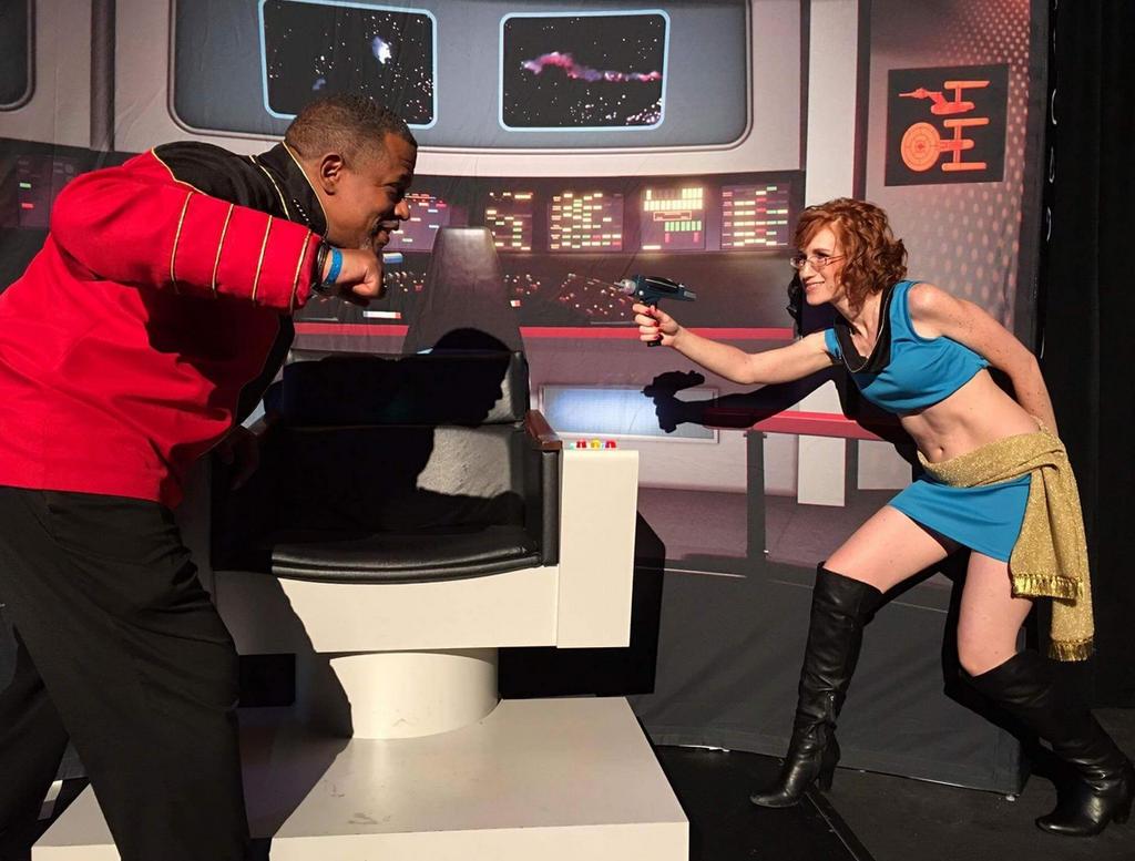 Star Trek Mirror Universe Cosplay by Heather-Ferris