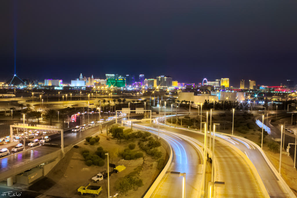 Las Vegas Strip by Heather-Ferris