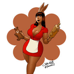 Gingerbread Bunny