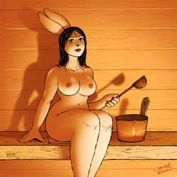 Sauna Bunny