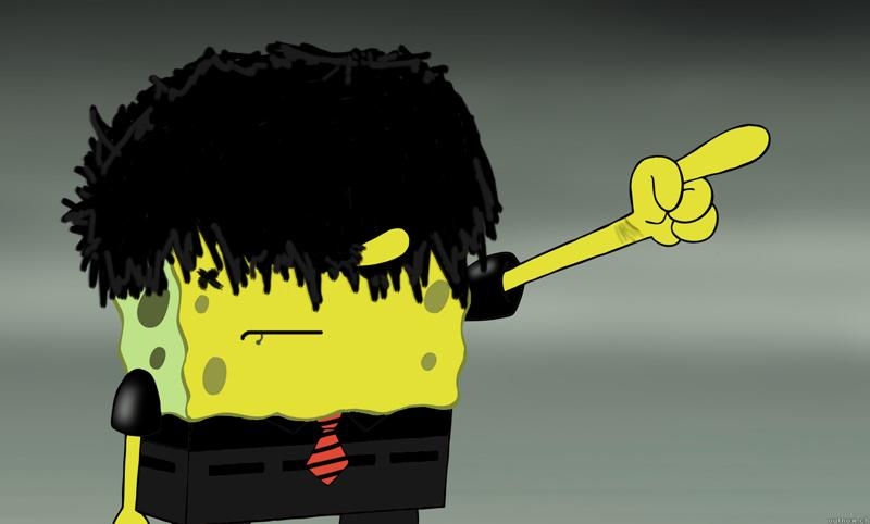 Spongebob Squarepants Emo by mickeforsberg