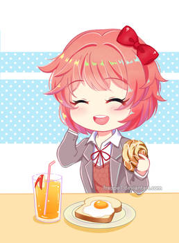 [C] Breakfast at Sayori's