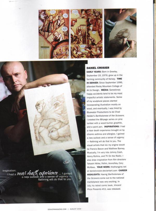 Daniel Crosier in Denver Mag