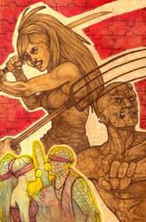 Show Devils commission art