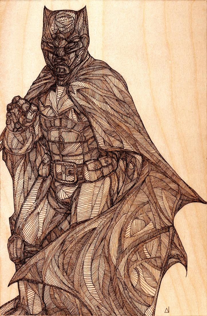 BatmanInk by DanielCrosier