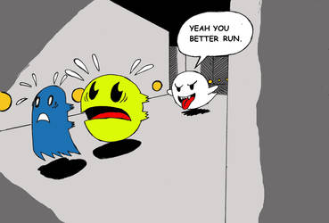 Pac Man and Boo - C