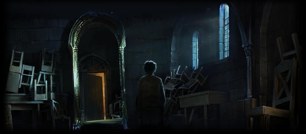 Mirror Of Erised Ii By Barbora TŐgel: Mirror Of Erised By CiroGiso On DeviantArt