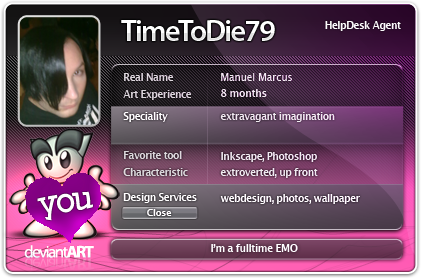 TimeToDie79's Profile Picture