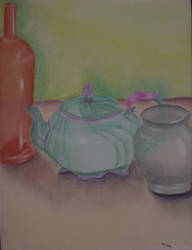 Pastel Still Life by melydia