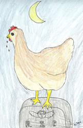 Vampire Chicken by melydia