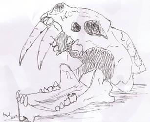 Skull by melydia