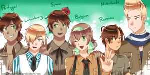 (COMMISSION) Squad Goals
