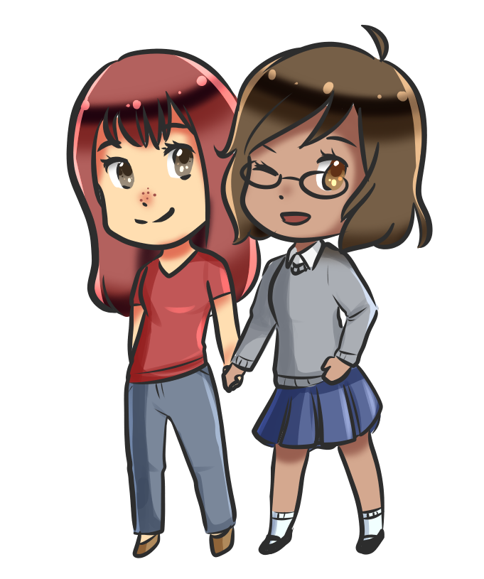 (COMMISSION) Xilane and Toto by SmartasticalArt
