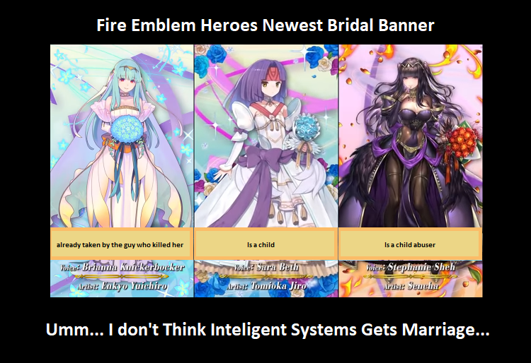 FEH Awkward new bridal banner by NowiGreen