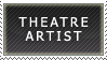 Theatre Artist Stamp by jmansker
