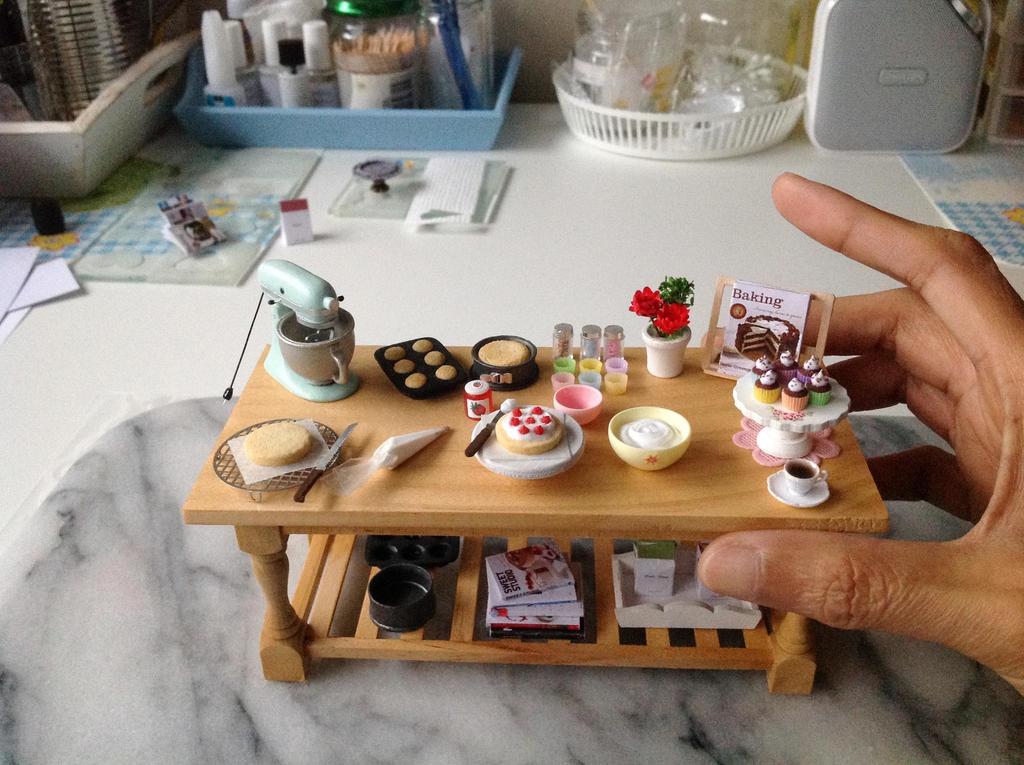 1:12 Scale Baking Prep Table By Almadejonge ...