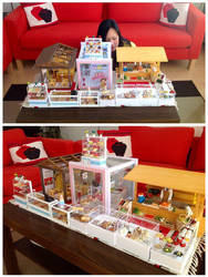 Some of my miniatures by Almadejonge