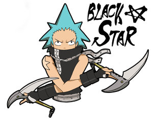 Black Star +SOUL EATER+ by spanish-deviants