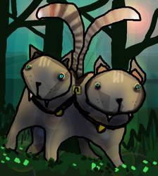 DOUBLECAT THE DOUBLE-CAT