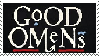 Good Omens Stamp by TwilightProwler
