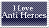 Love Anti Heroes - Blue Stamp by TwilightProwler