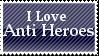 Love Anti Heroes - Blue Stamp by TwilightProwler