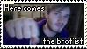 PewDiePie - Here Comes The Brofist Stamp by TwilightProwler