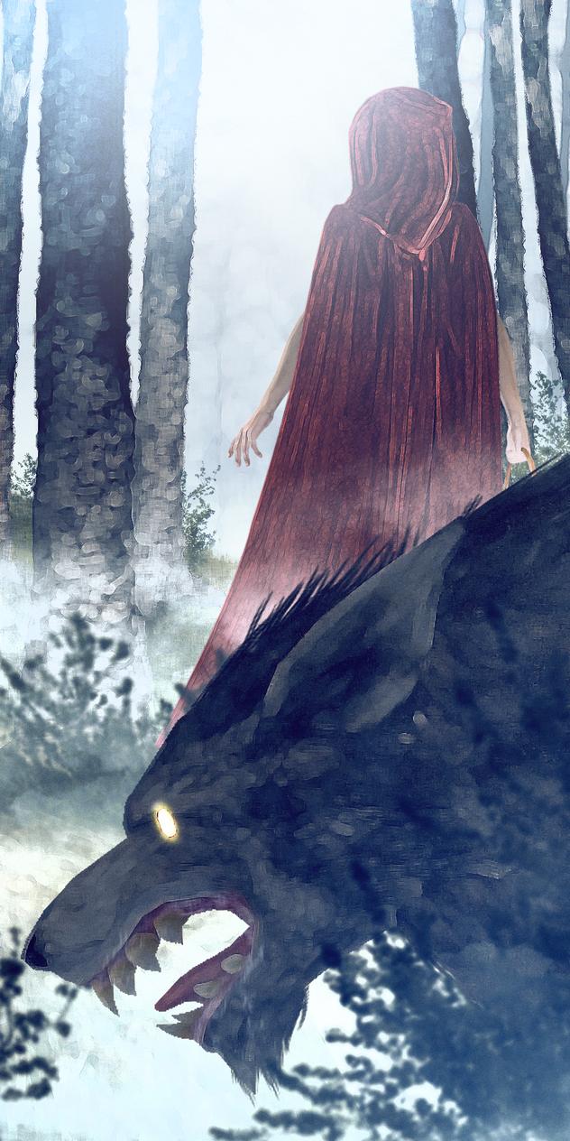 Alone in the woods? by Shyngyskhan