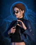 Lara Portrait - Angel of Darkness