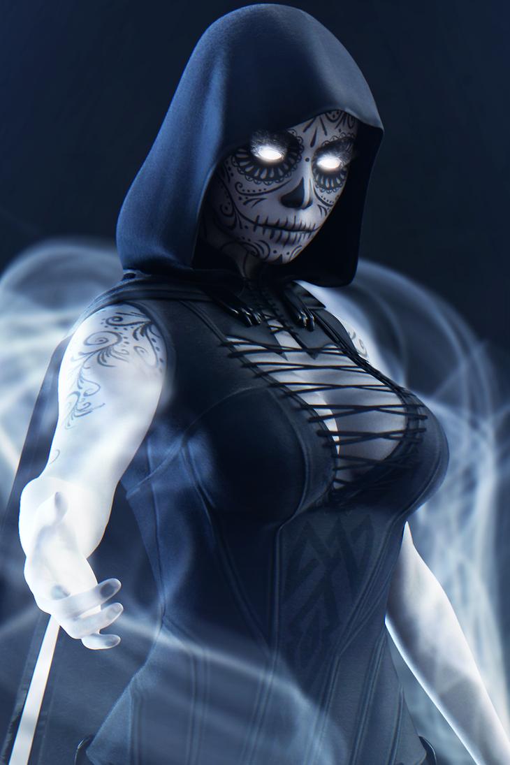 Lady Death by Shyngyskhan