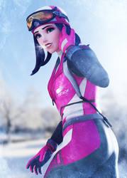 Winter Amelie by Shyngyskhan