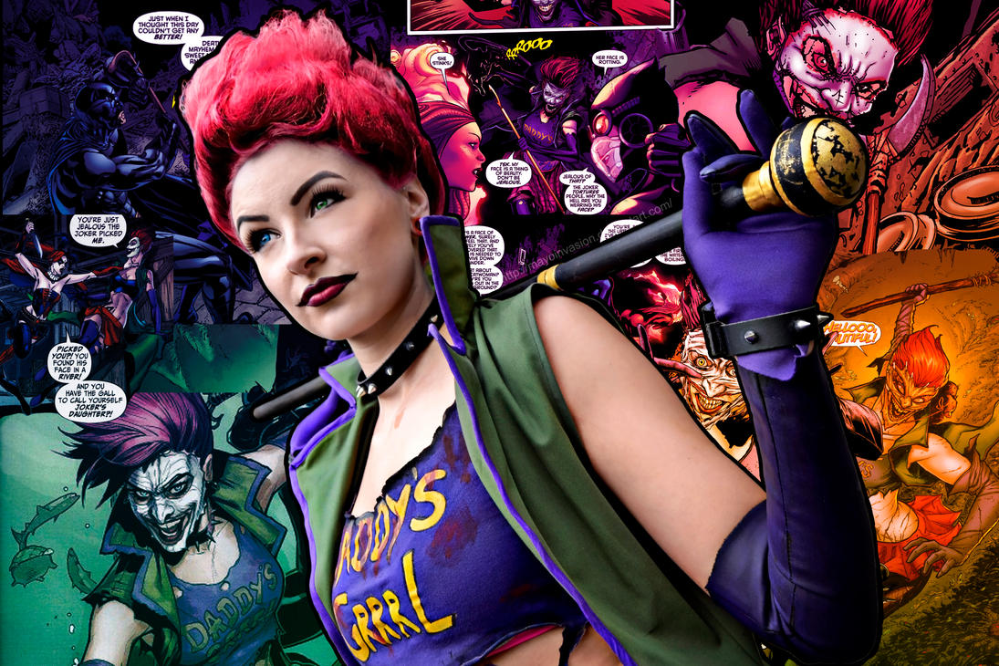 The Joker's Daughter by MayoInvasion