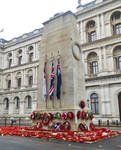 The Cenotaph war memorial in Whitehall, London by ctyguidelondon