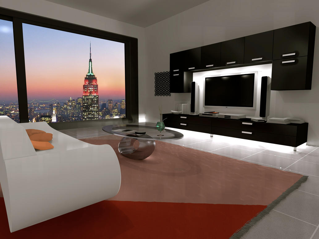 Loft in new york by ashmoedai on deviantart for Loft new york affitto