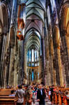 Cologne Cathedral Inside - HDR